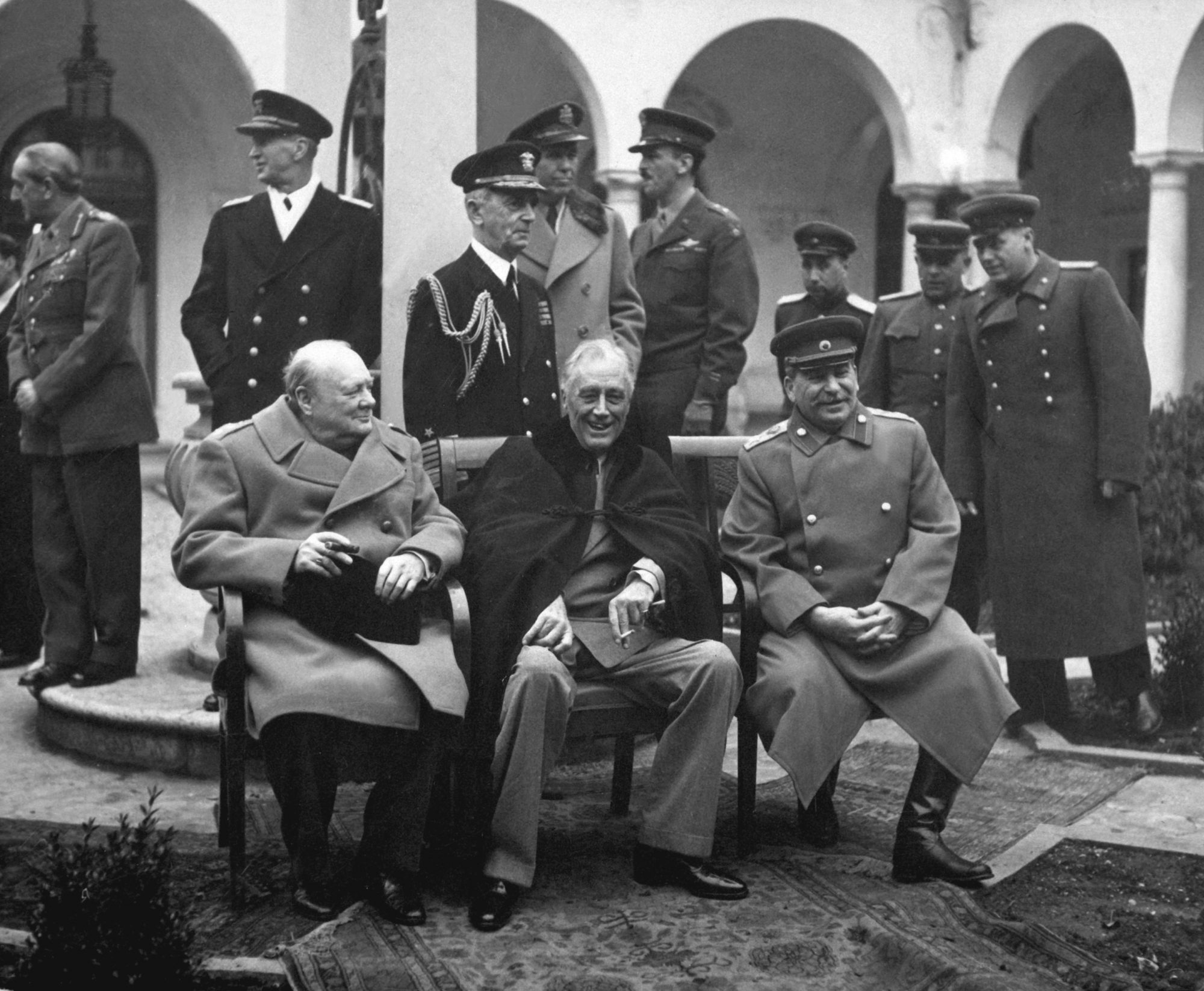 1945 - Yalta Conference (Wikimedia commons)